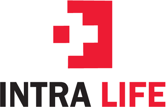 Intra life India logo